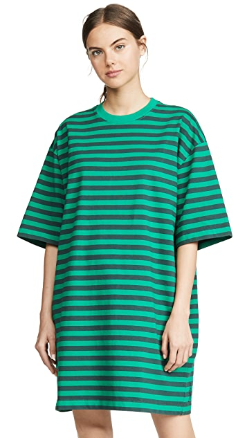 Marc Jacobs The Striped T-Shirt Dress