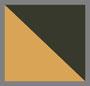 Army Green/Gold Stripe