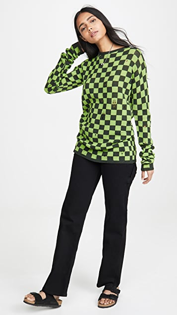The Marc Jacobs 方格纹毛衣