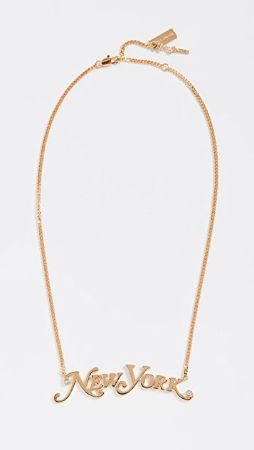 Marc Jacobs The Nameplate NY Pendant