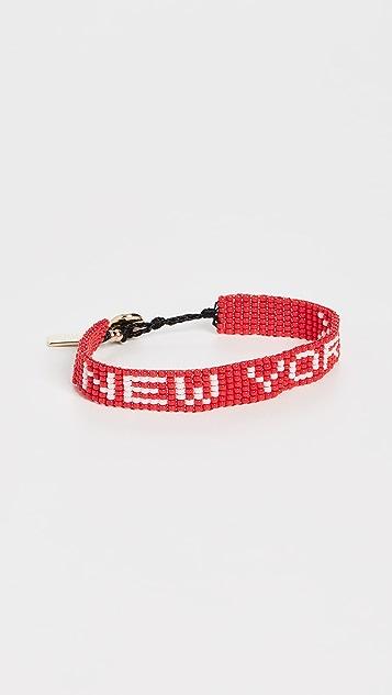The Marc Jacobs The Beaded NY Bracelet