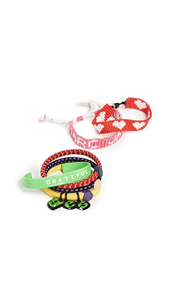 Marc Jacobs The Grateful Bracelet Set