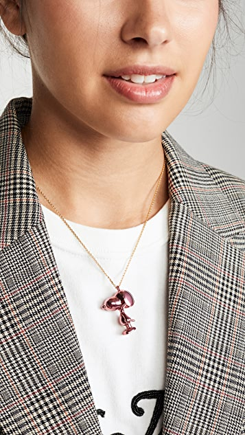 Marc Jacobs The Small Snoopy Pendant Necklace