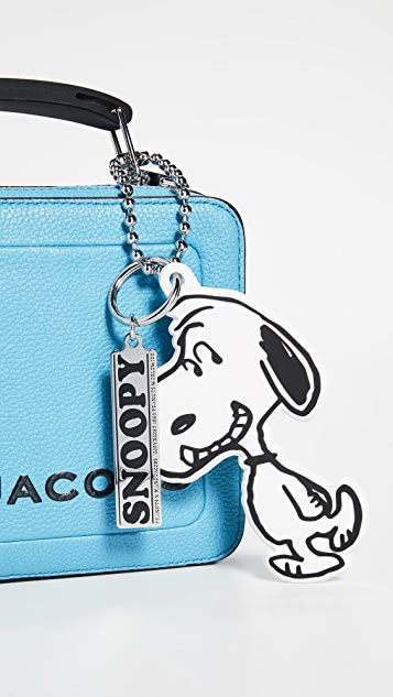 Marc Jacobs Snoopy Silicone Bag Charm