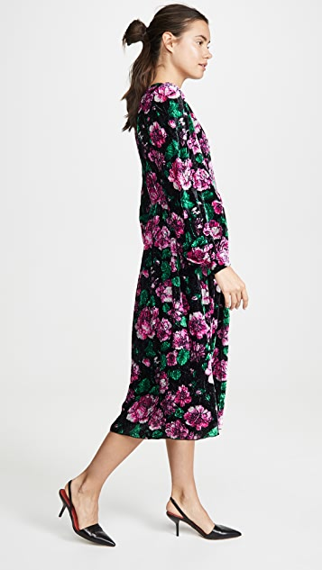 Marc Jacobs 宽松束口袖喇叭连衣裙