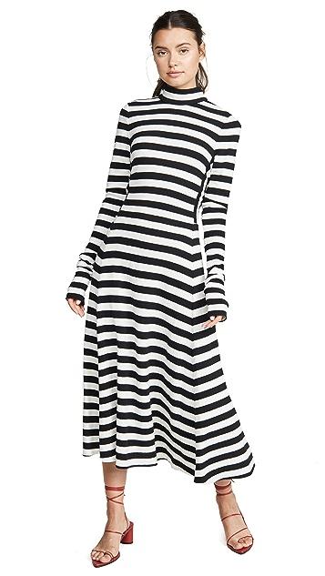 Marc Jacobs Платье с длинными рукавами и завязкой на спине