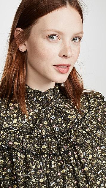 Marc Jacobs 维多利亚风格抽褶连衣裙