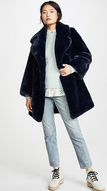 Marc Jacobs Sofia Loves The 厚呢大衣