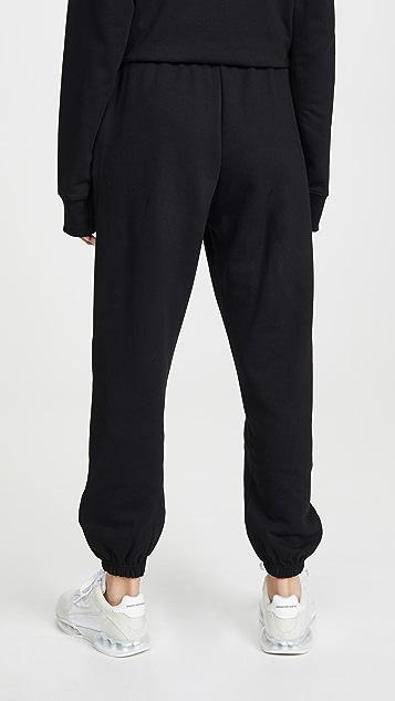 Marc Jacobs Черные спортивные брюки