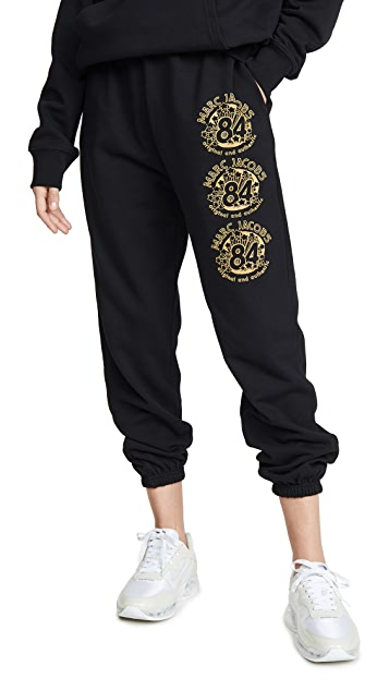 The Marc Jacobs The gym pants black