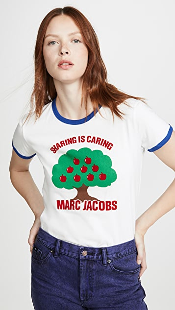 Marc Jacobs T-shirts The Ringer T-Shirt Tree