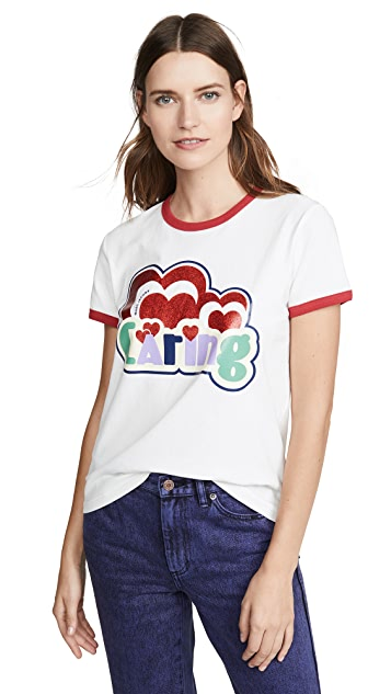 Marc Jacobs The Ringer T-shirt Giving