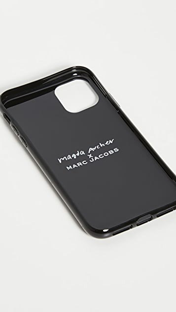 The Marc Jacobs x Magda Archer iPhone 11 手机壳