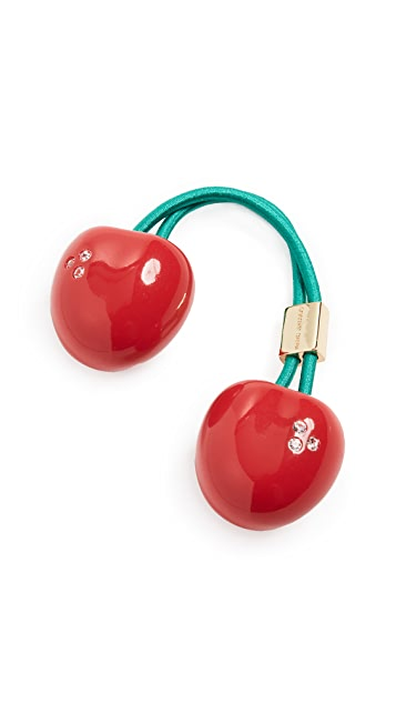 The Marc Jacobs The Hair Bauble Cherries
