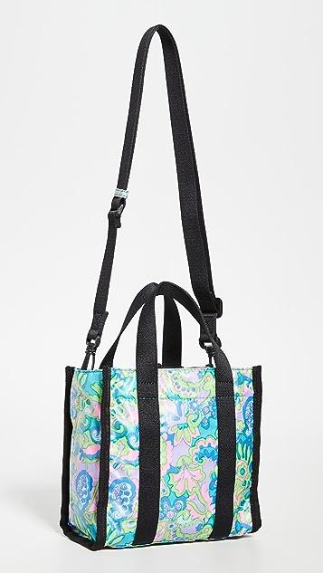 Marc Jacobs The из ткани рипстоп Объемная сумка с короткими ручками с принтом