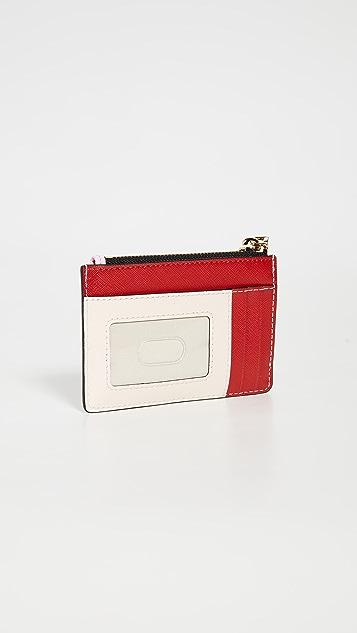 Marc Jacobs Разноцветный кошелек Snapshot с молнией сверху