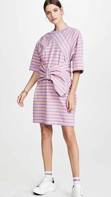 The Marc Jacobs The Striped T-Shirt Dress