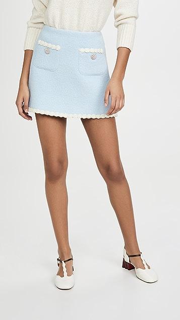 The Marc Jacobs 花呢半身裙