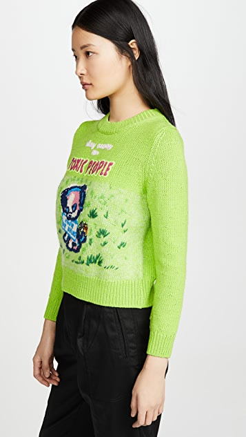 The Marc Jacobs Magda Archer x The Intarsia Sweater