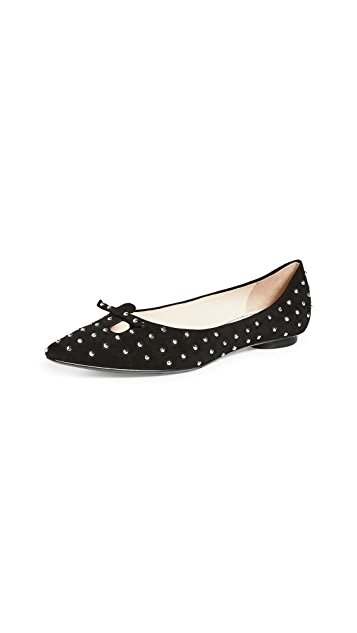 The Marc Jacobs The Studded Mouse Flats