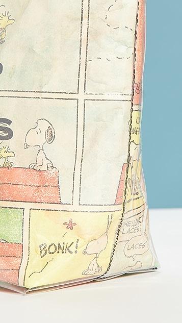 The Marc Jacobs x Peanuts 托特包