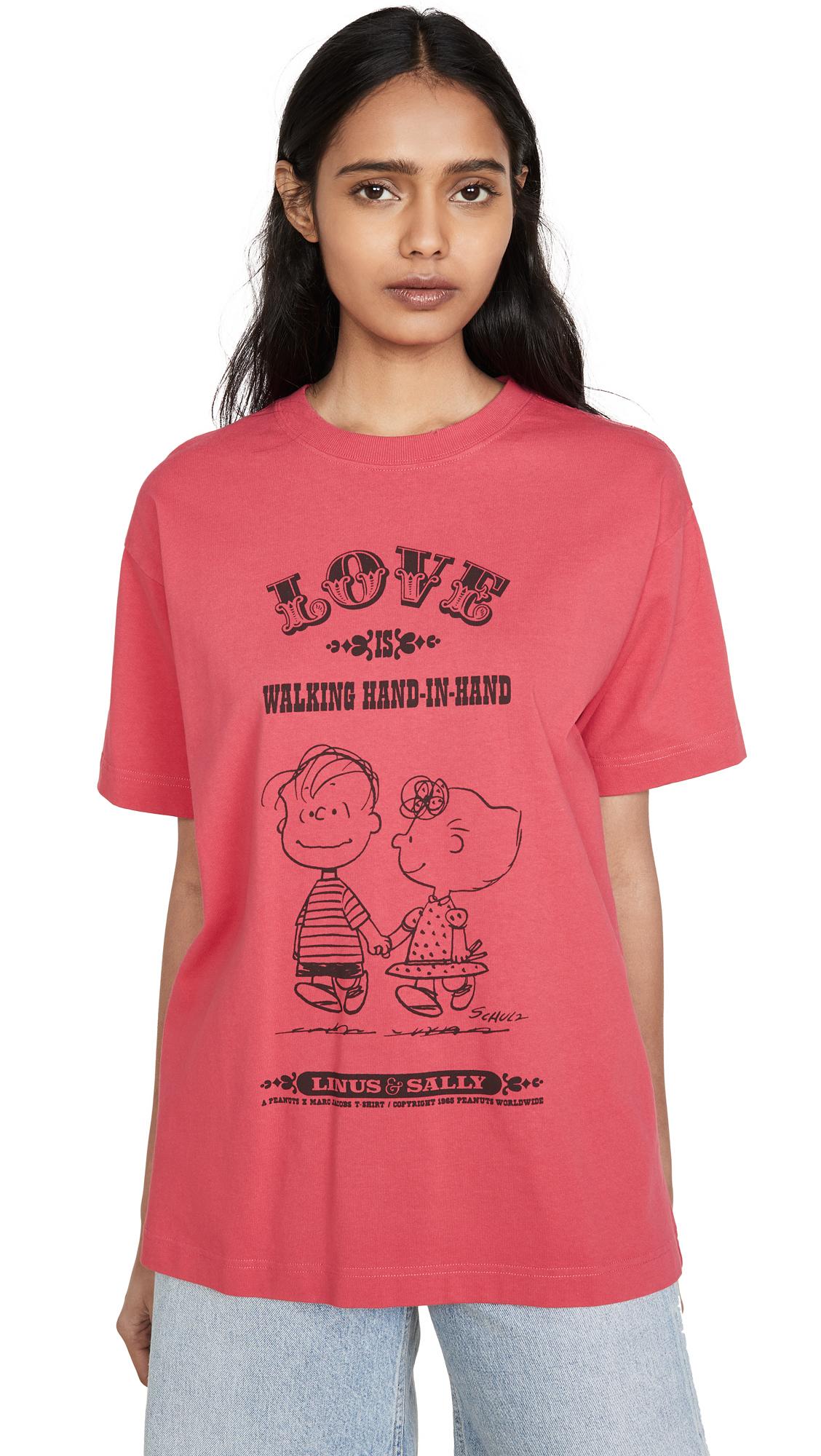 The Marc Jacobs x Peanuts Love T-Shirt