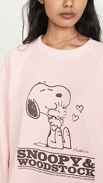 The Marc Jacobs x Peanuts Snoopy & Woodstock 运动衫