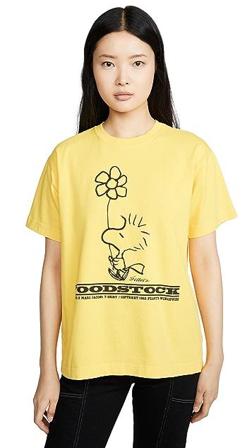 Marc Jacobs Футболка x Peanuts Woodstock