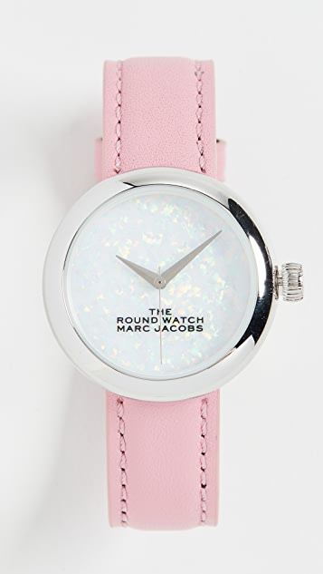 The Marc Jacobs The Round Watch 32mm