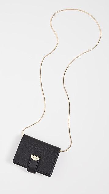 The Marc Jacobs 链条半月形卡片包