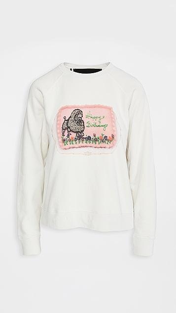 The Marc Jacobs 皱缩款运动衫
