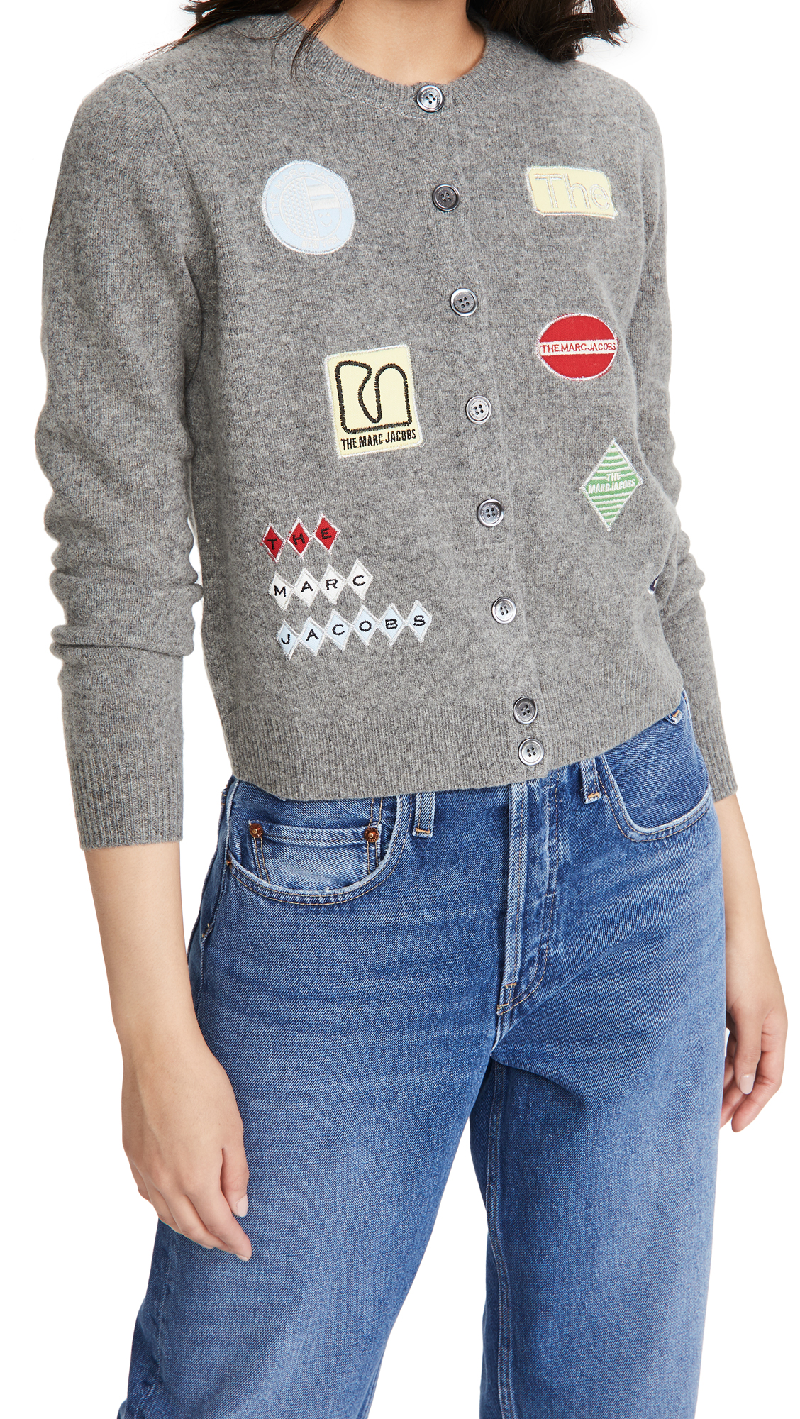 The Marc Jacobs The Embroidered Cardigan