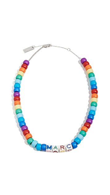 The Marc Jacobs The Toy Blocks Beaded Necklace