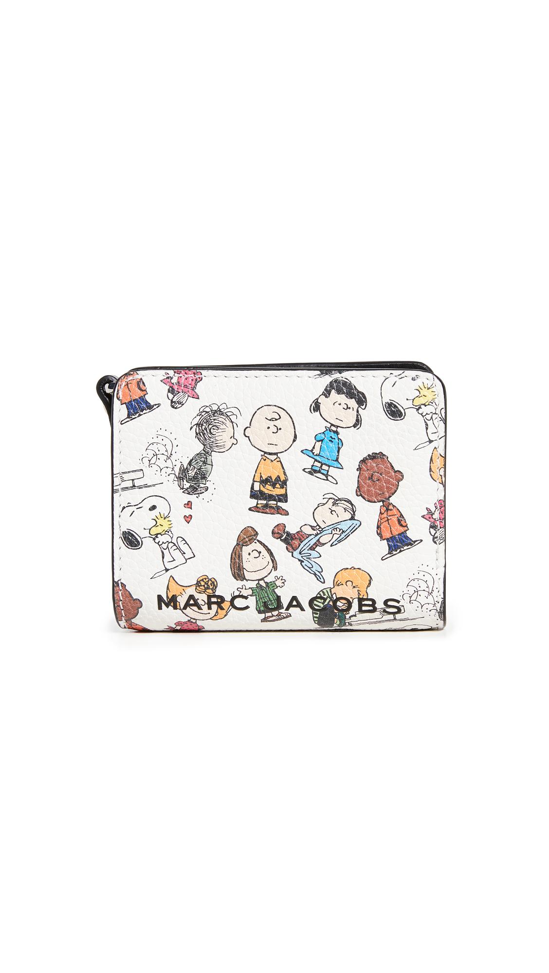 The Marc Jacobs x Peanuts Mini Compact Wallet