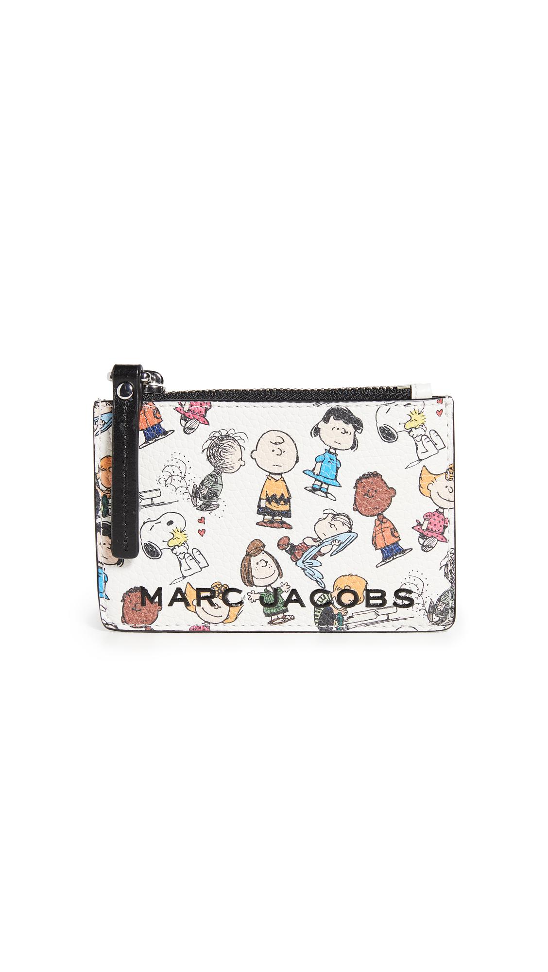 The Marc Jacobs x Peanuts Top Zip Multi Wallet