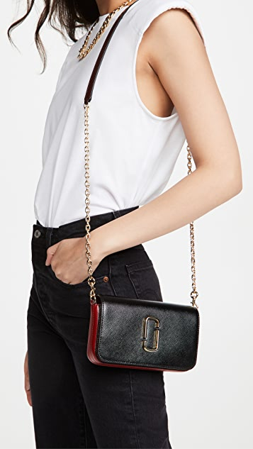 The Marc Jacobs Snapshot Crossbody with Chain