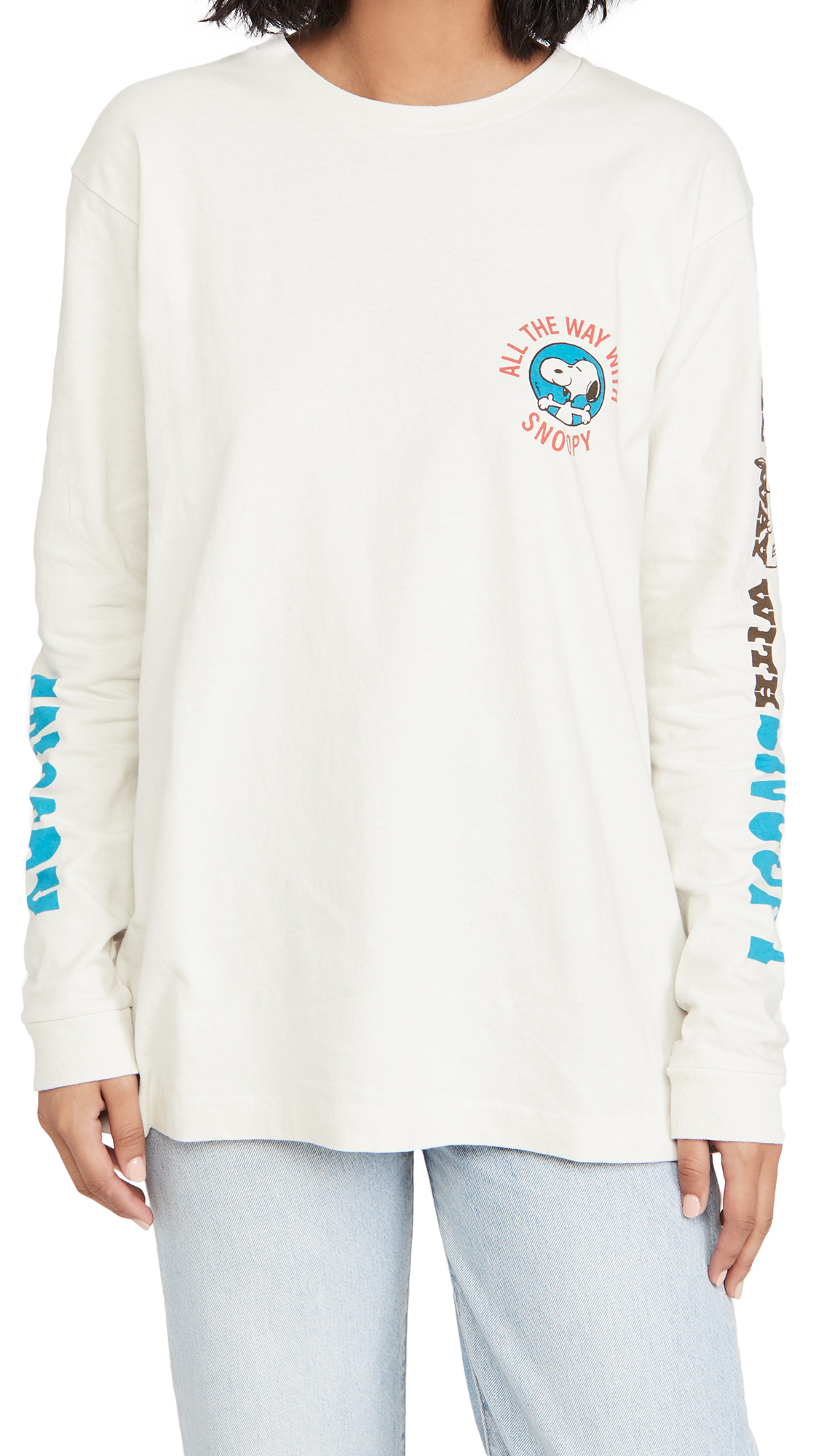 The Marc Jacobs x Peanuts The Long Sleeve Tee