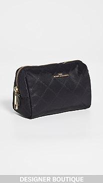 마크 제이콥스 트라이앵글 파우치 - 블랙 Marc Jacobs Triangle Pouch Cosmetic Case