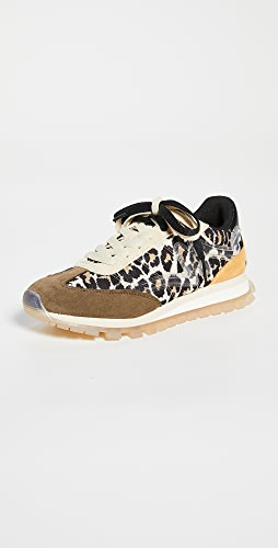 The Marc Jacobs - The Leopard Jogger Sneakers