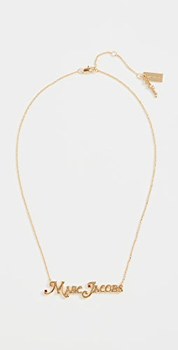 The Marc Jacobs - The Nameplate Necklace