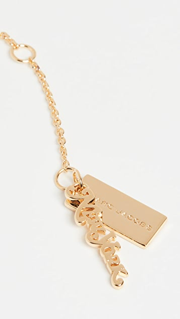 The Marc Jacobs The Nameplate Necklace