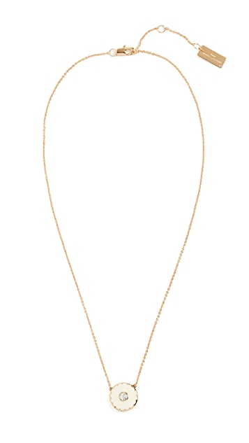 The Marc Jacobs The Medallion Pendant Necklace