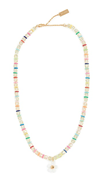 The Marc Jacobs The Daisy Beaded Necklace