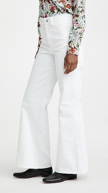 The Marc Jacobs 喇叭牛仔裤