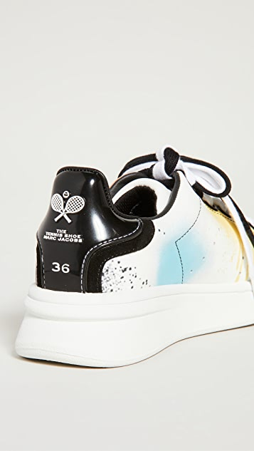 The Marc Jacobs The Spray Paint Tennis Shoes
