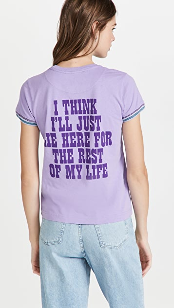 The Marc Jacobs x Peanuts Rest of My Life Tee