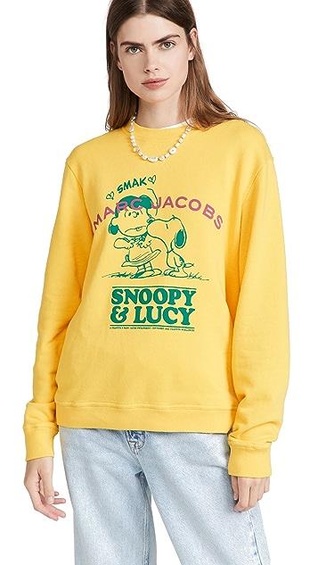 Marc Jacobs x Peanuts I Fall in Love Crew Sweatshirt