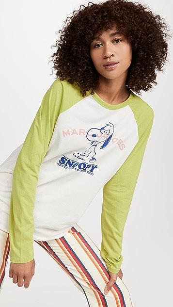 The Marc Jacobs x Peanuts I Feel Mean Baseball Tee