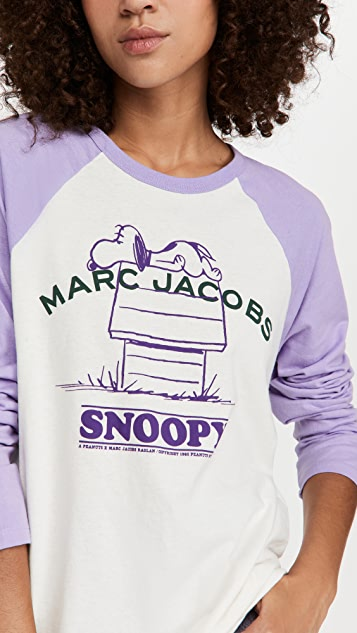 The Marc Jacobs x Peanuts Rest of My Baseball Tee