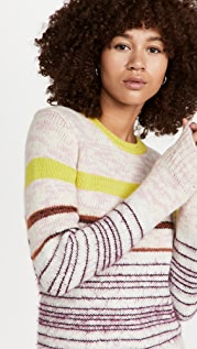 The Marc Jacobs Striped Crewneck Sweater
